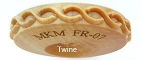 FR Finger Rollers by MKM - Amaranth Stoneware Canada