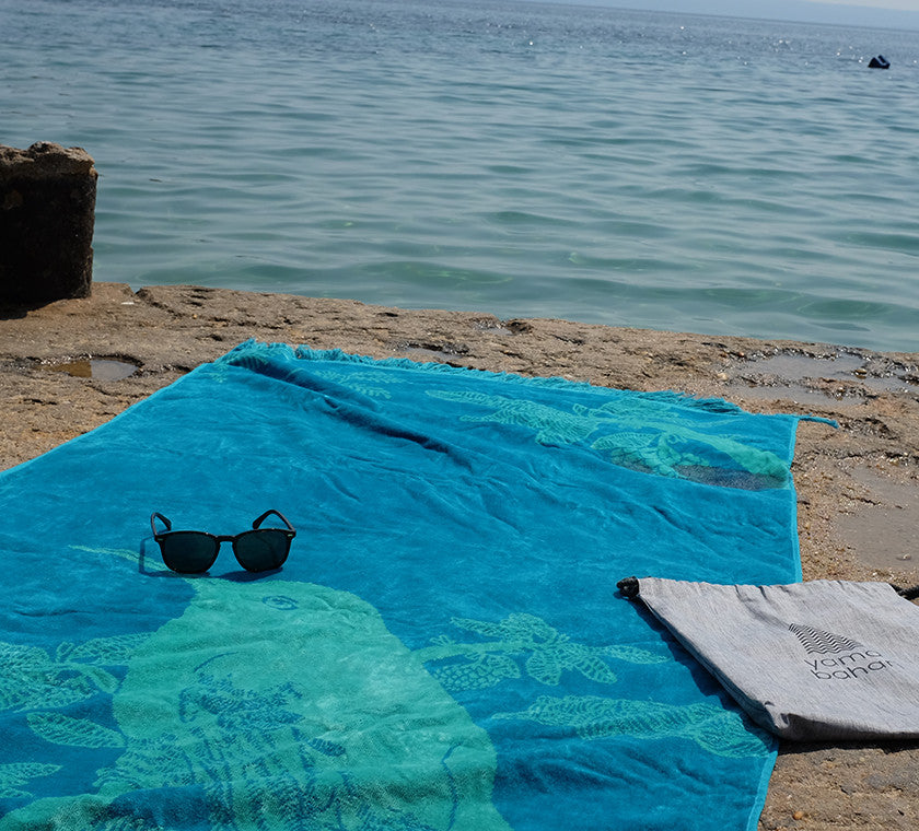 Cotton beach towel yamabahari