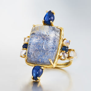 Finding The Rare & Unusual, The Dumortierite Ring