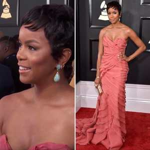 LeToya Luckett at the 2017 Grammy Awards