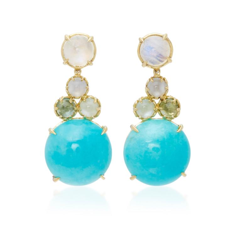 Czarina Big Drop Earrings