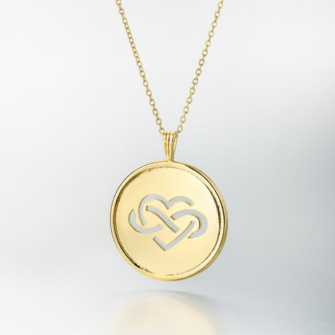 Children's Action Network 18k Gold Pendant