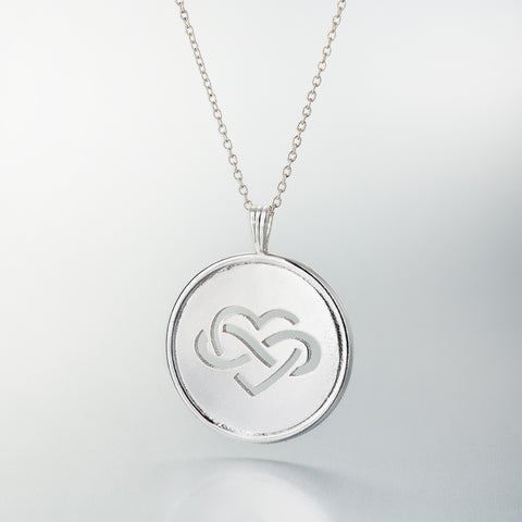 Children's Action Network Silver Pendant