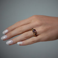 Czarina Three-Stone Ring