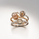 Czarina Solitaire Brown Diamond Ring