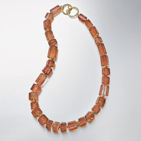 Iron Quartz Necklace