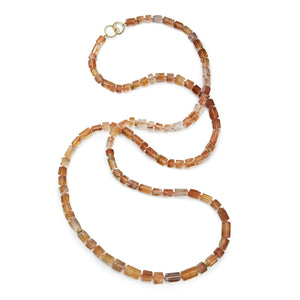 Orbit Iron Quartz Triple Strand Necklace