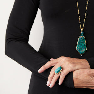 Dailies 819 Chrysocolla Ring