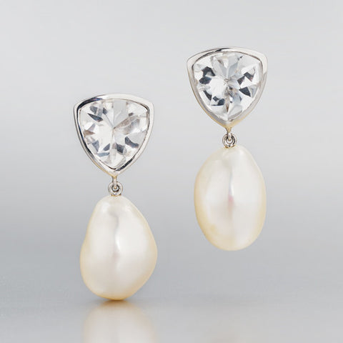 AmeriCares Donation: Tango Pearl Earrings