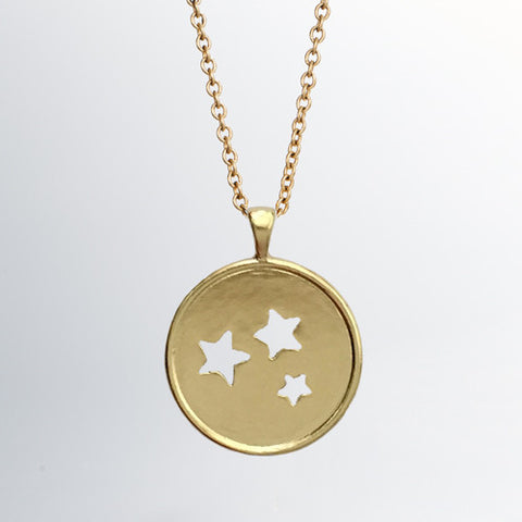 Project Glimmer Gold Pendant