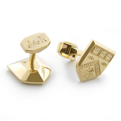 Family Crest Cuff-links