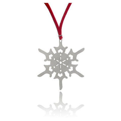 Snowflake Holiday Ornament, 1