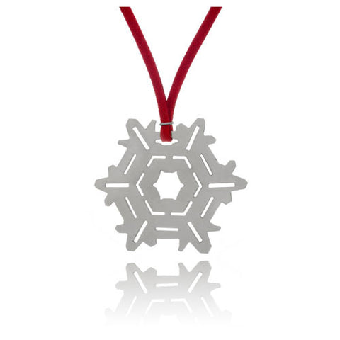 Snowflake Holiday Ornament, 2