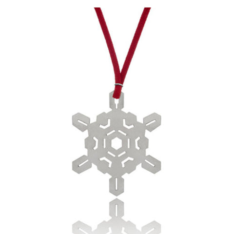 Snowflake Holiday Ornament, 3