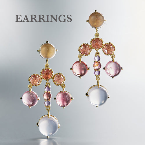 Earrings by Daria de Koning