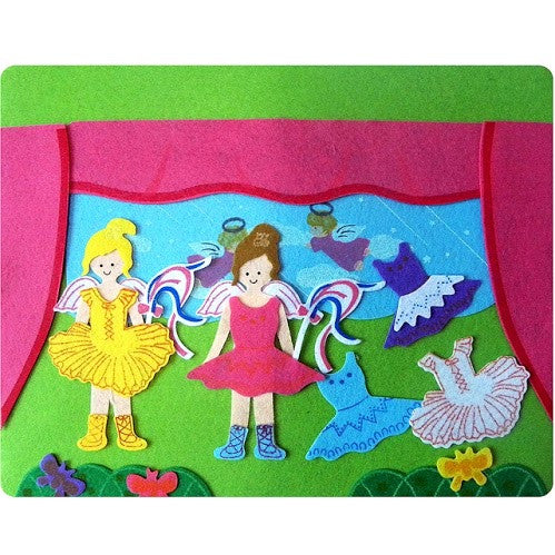 Felt Board - Two Little Ballerinas