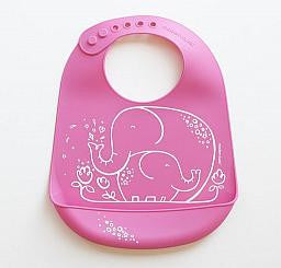 Elephant Hugs Bucket Bib