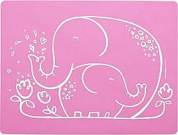 Elephant Hugs Meal Mat