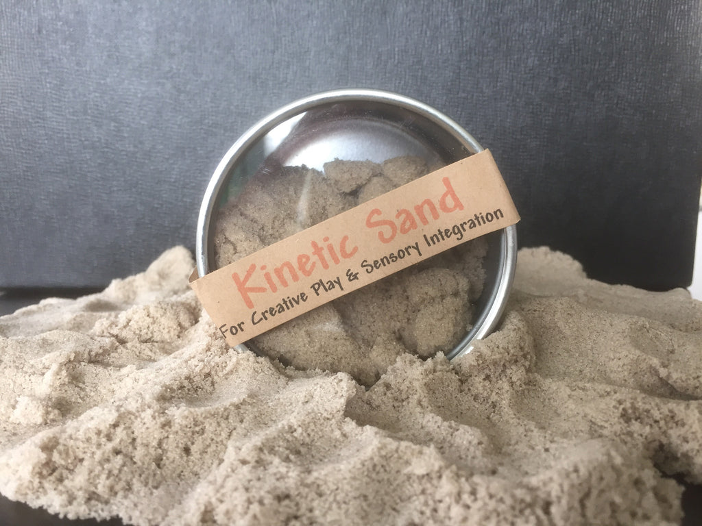 Kinetic Sand in Tin Can