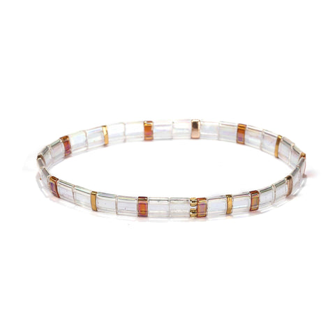 Image of Tila Bracelet- Clear Autumn