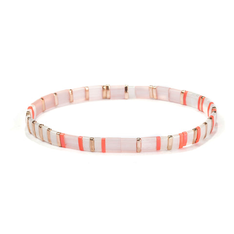 Image of Tila Bracelet- Coral Bliss