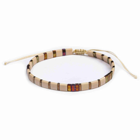 Image of Tila Bracelet- Mocha Dream