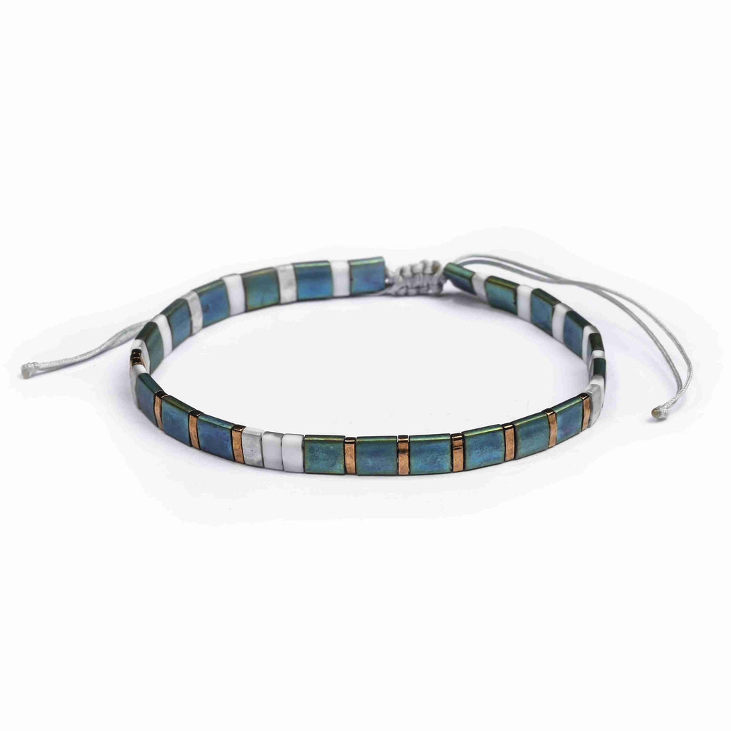 Tila Bracelet- Blue Waves