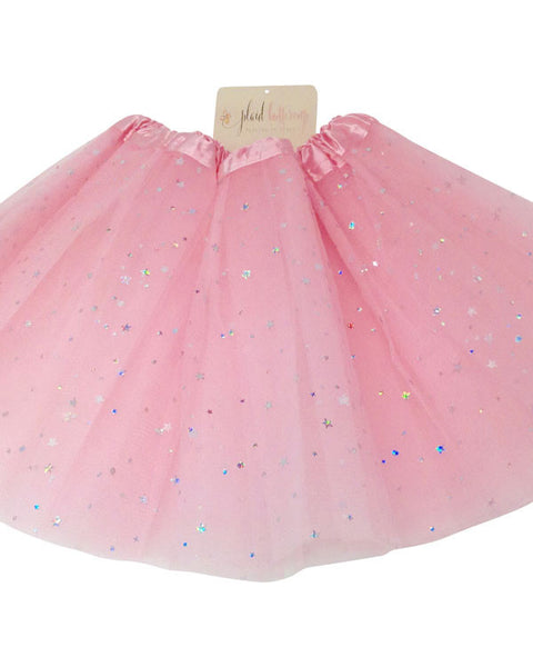 Dress Up Star Tutu - Plaid Buttercup