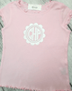 Flower Monogram - Plaid Buttercup