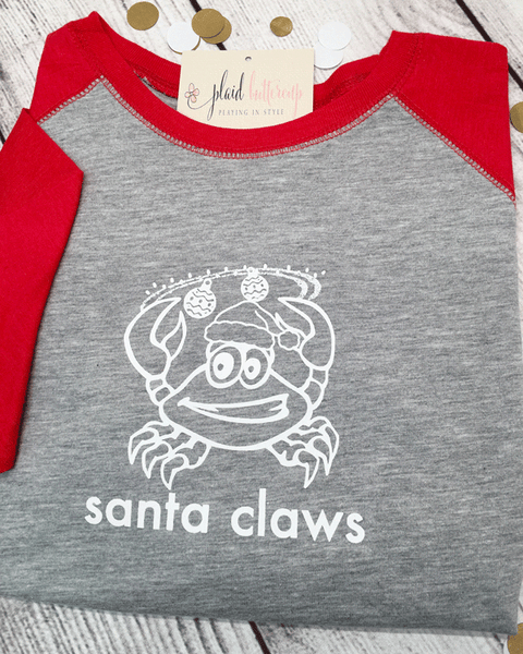 Santa Claws Coastal Christmas Tee
