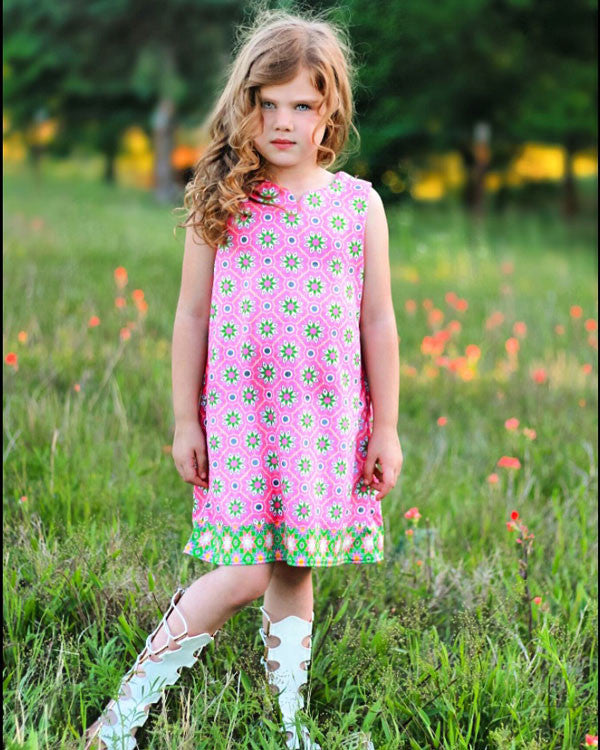 The Anna Dress and Shorts - Plaid Buttercup