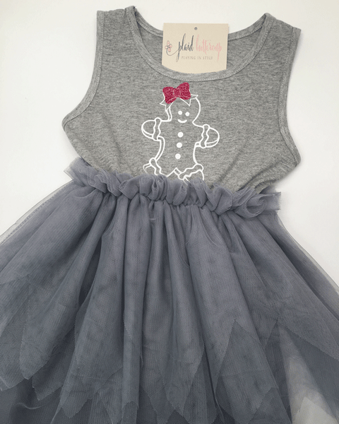 Gingerbread Tutu Dress