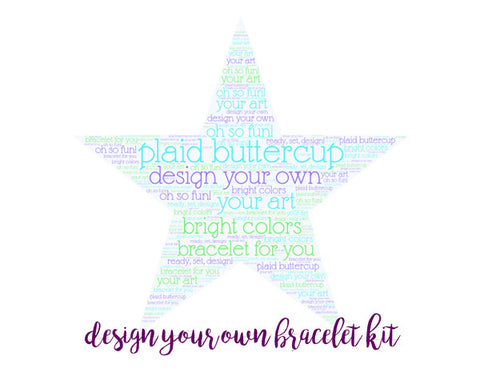 Design Your Own Bracelet Gift Certificate - Plaid Buttercup
