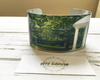 UNC-Chapel Hill Cuff Bracelet - Plaid Buttercup
