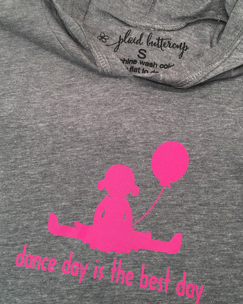 Dance Day Is the Best Day Tee or Hoodie - Plaid Buttercup