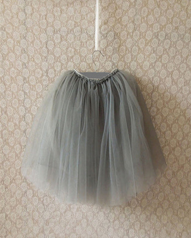 Long Tutu - Plaid Buttercup