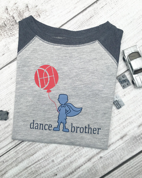 Dance Brother Tee - Plaid Buttercup