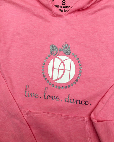 live. love. dance. DAG with Bow - Plaid Buttercup