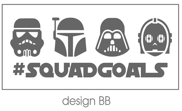 Squad Goals Star Wars - Plaid Buttercup