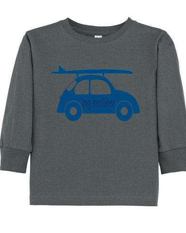 Brother Surf Buggy Tee - Plaid Buttercup