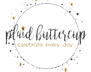 Plaid Buttercup logo