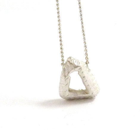 Small triangular pendant