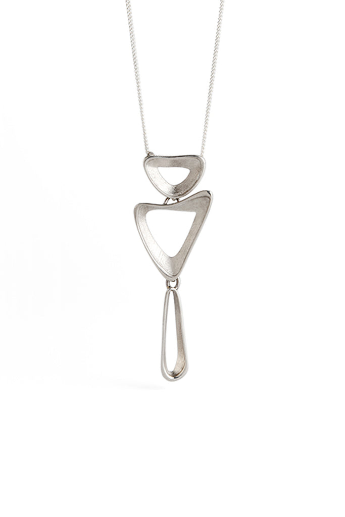 dainty silver pendant necklace for women by lacuna jewelry