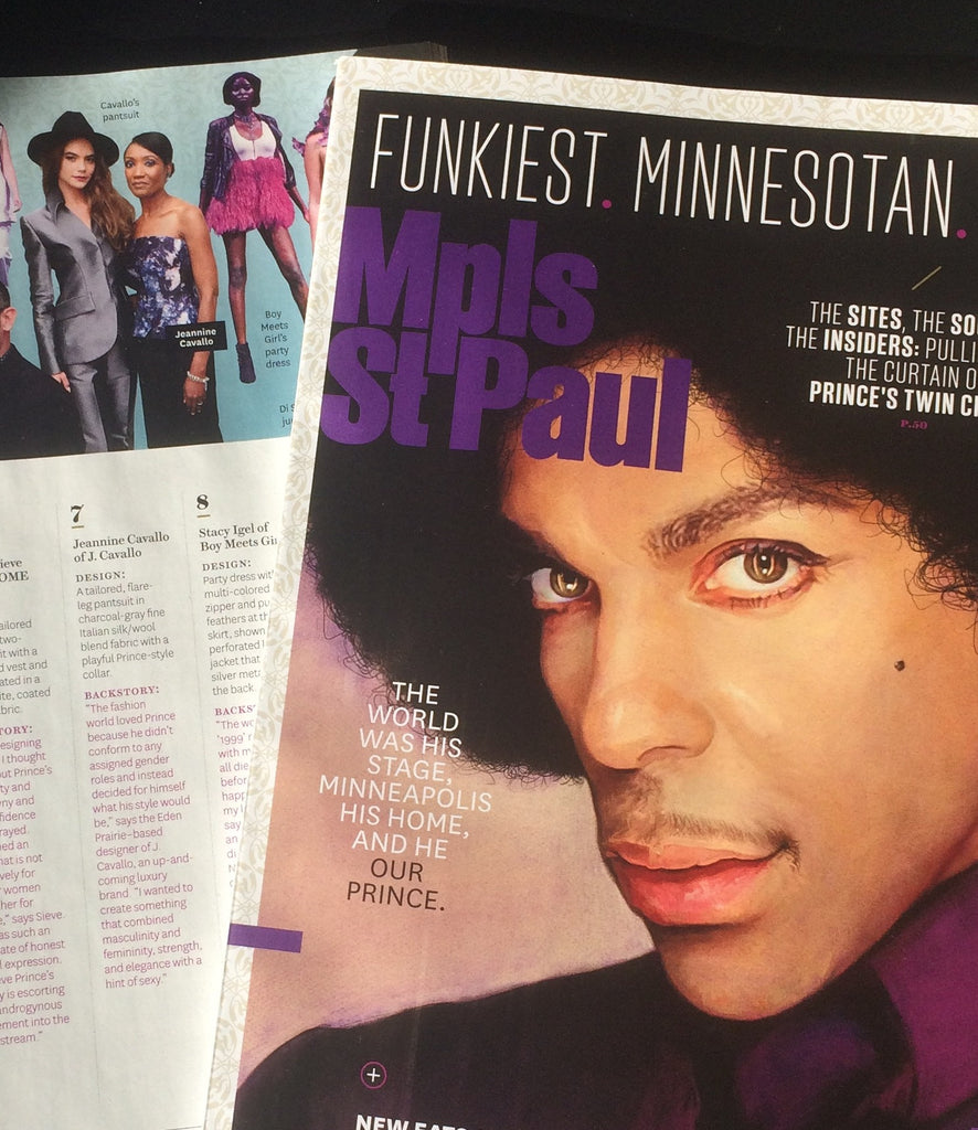 We're in the Minneapolis St. Paul Magazine December 2016 Prince Tribute Issue!