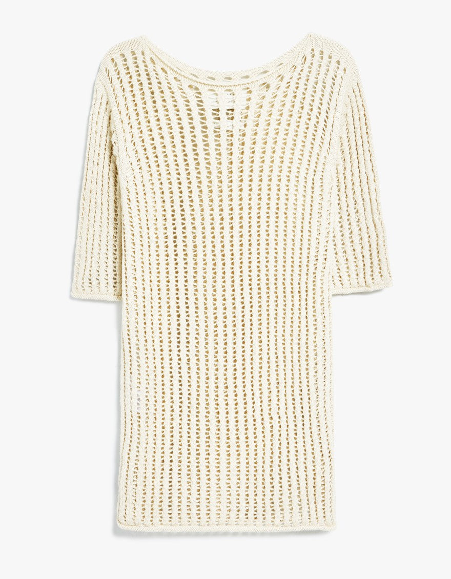 Lauren Manoogian - Cane Tee in Ivory