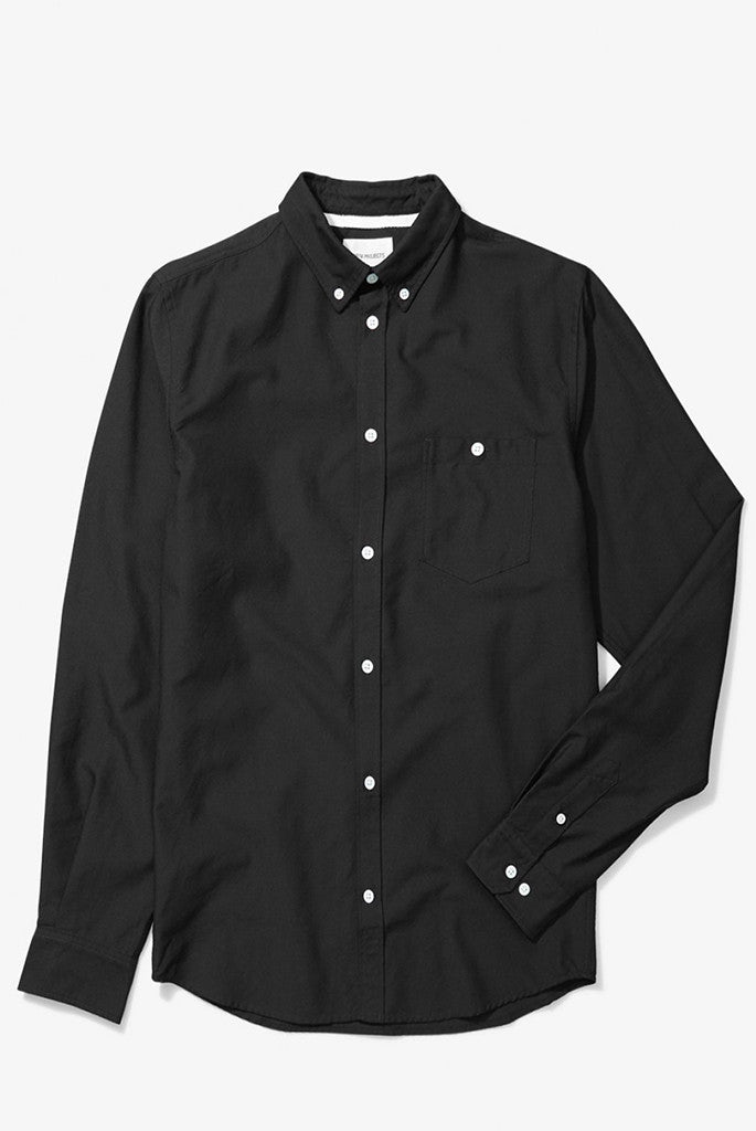 Norse Projects - Anton Denim Shirt in Black