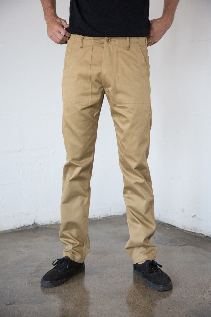Tellason - Fatigue Pant in Khaki