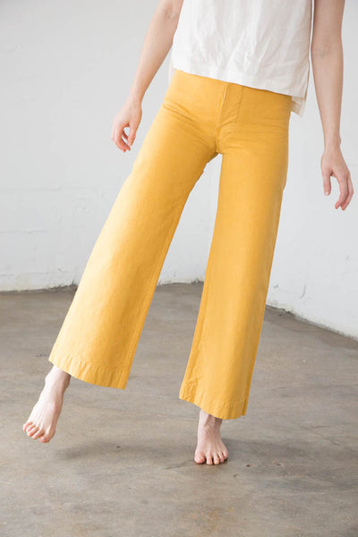 Jesse Kamm - Sailor Pant in Caribbean Gold