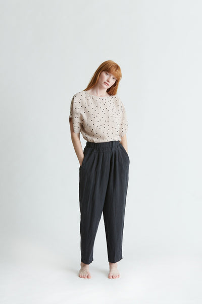 Black Crane - Carpenter Pant in Black