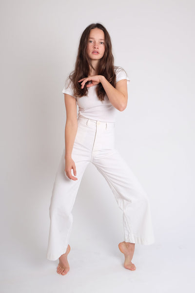 Jesse Kamm - Sailor Pant in Salt